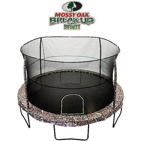 JumpKing 14' Mossy Oak Breakup Infinity Pattern Trampoline
