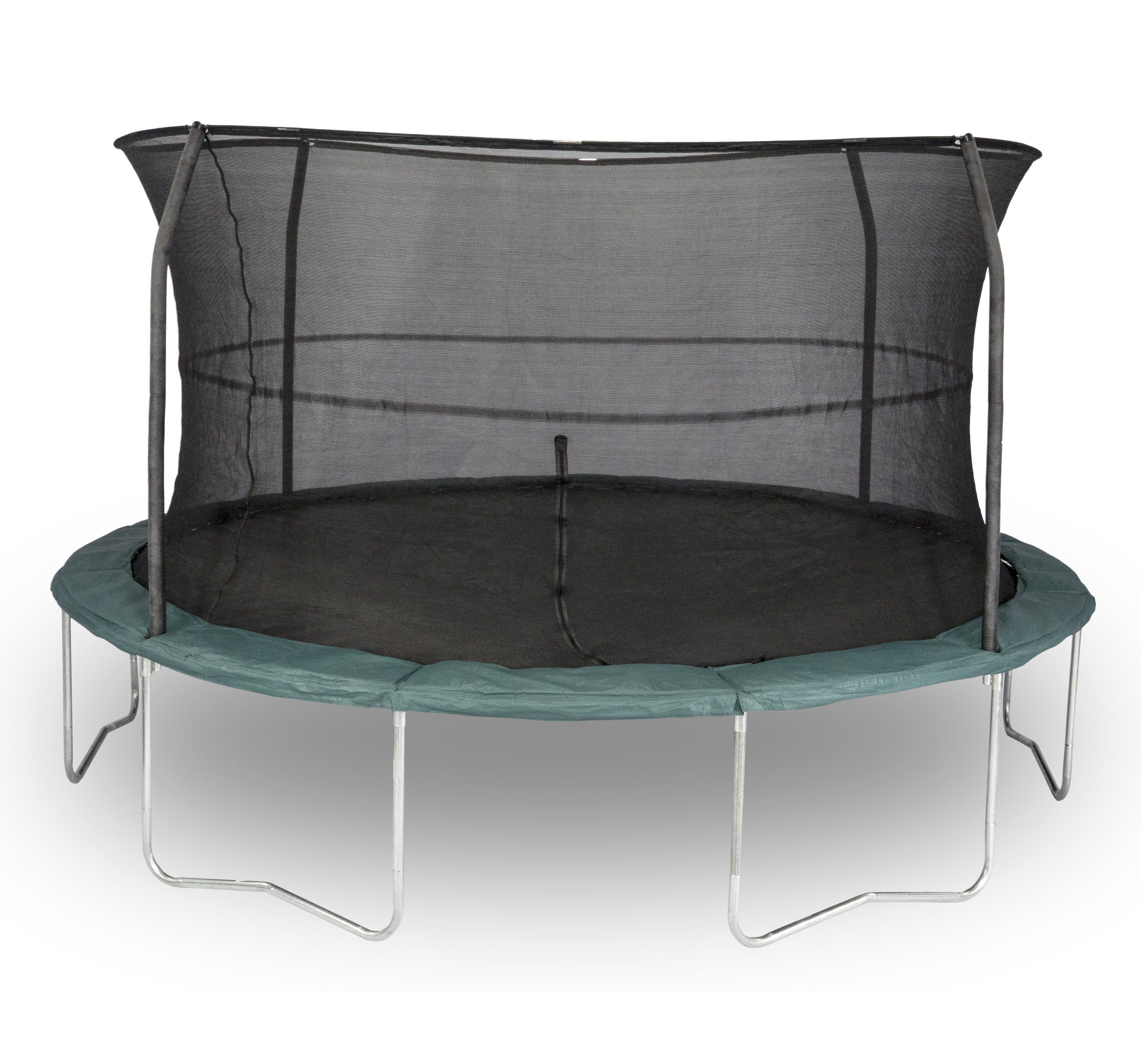 14 ft Orbounder Tr&oline and Enclosure Combo Style OR1413B6A1-DAL Dim - 168  dia x 111   sc 1 th 217 & Bazoongi™ Kids! - Trampolines
